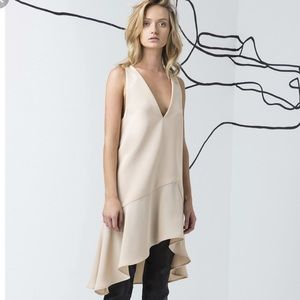 C/MEO Collective Easy Love Dress Tan